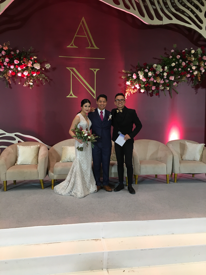 Wedding of Adrian & Nessia by MC Samuel Halim - 002