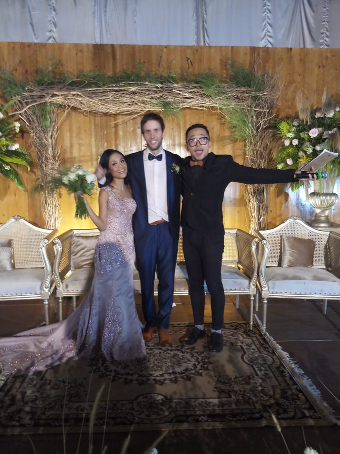 Wedding of Bas De Jong & Putri Naya by MC Samuel Halim - 001