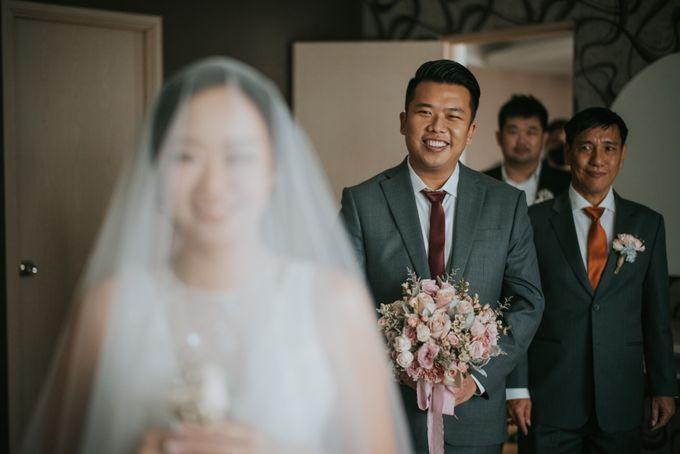 Steven & Catherin Wedding at Aston Cirebon by PRIDE Organizer - 023