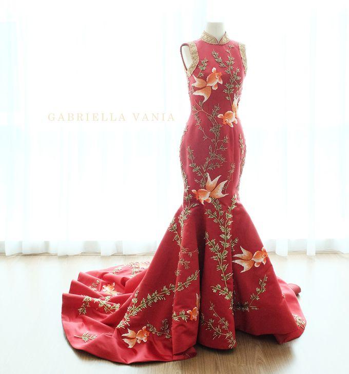 Cheongsam Embroidery - GV HERITAGE by GV by Gabriella Vania - 022
