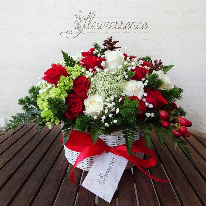 FLOWER BASKET AND VASE by Fleuressence - 004