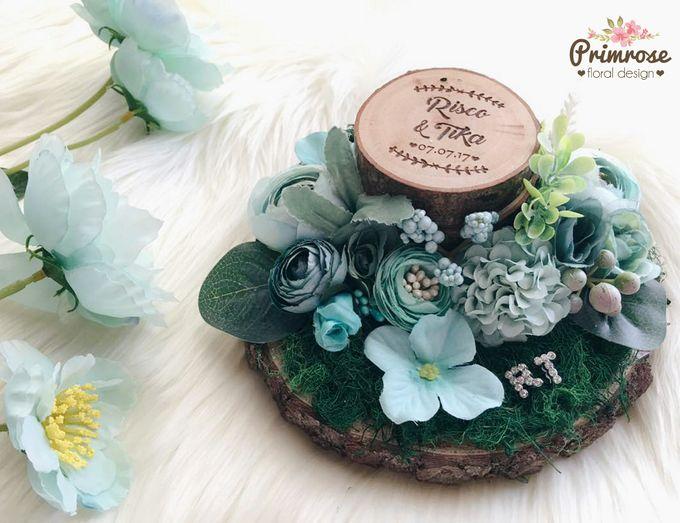 Wedding Ring Box by Primrose Floral Design - 027