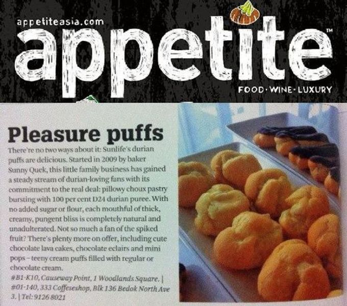 Media Mentions by Sunlife Pastries - 001