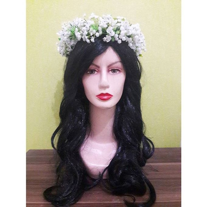 Flower Crown / Bando Bunga / Mahkota Bunga by Estrella Flower Crown - 016