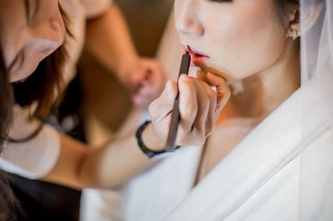 Grace Wedding. Natural & Korean Style Make Up by Marsia Yulia Signature. Natural and Korean Make Up Specialist. - 012