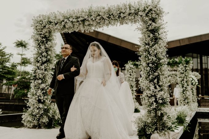 Mega & Aistis Wedding at Chakra BSD by AKSA Creative - 004