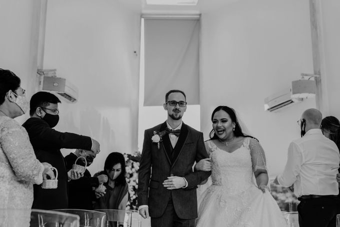 Mega & Aistis Wedding at Chakra BSD by AKSA Creative - 009