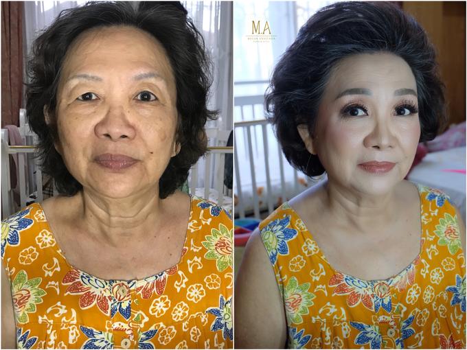MATURE MAKEUP TRANSFORMATION  by Megan Anastasia Makeup Artist - 017
