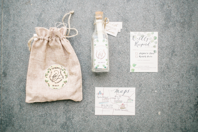 Ferry & Stefani Wedding by Meilifluous Calligraphy & Design - 001