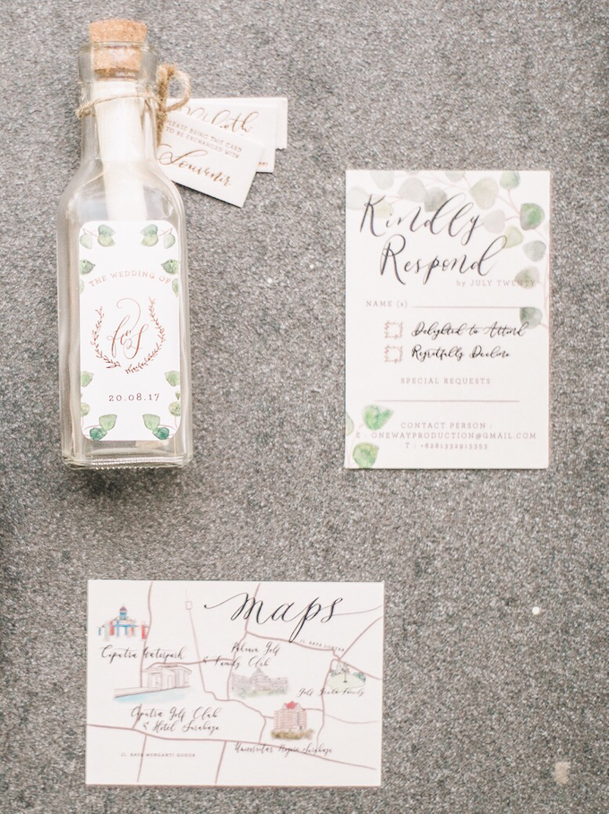 Ferry & Stefani Wedding by Meilifluous Calligraphy & Design - 006