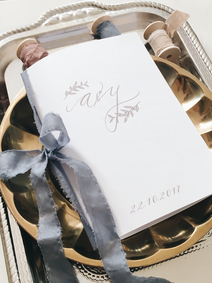 Aldian & Yoanna by Meilifluous Calligraphy & Design - 002