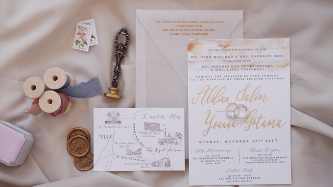 Aldian & Yoanna by Meilifluous Calligraphy & Design - 003