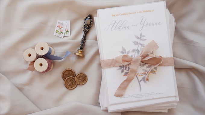 Aldian & Yoanna by Meilifluous Calligraphy & Design - 004