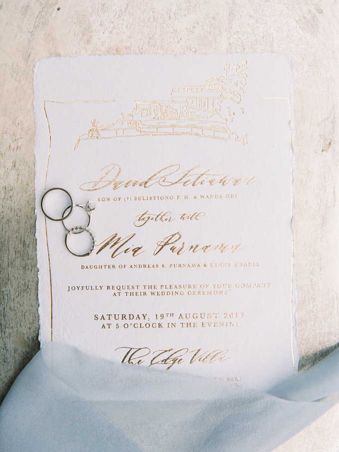 David and Mia Wedding Invitation Suite by Meilifluous Calligraphy & Design - 004