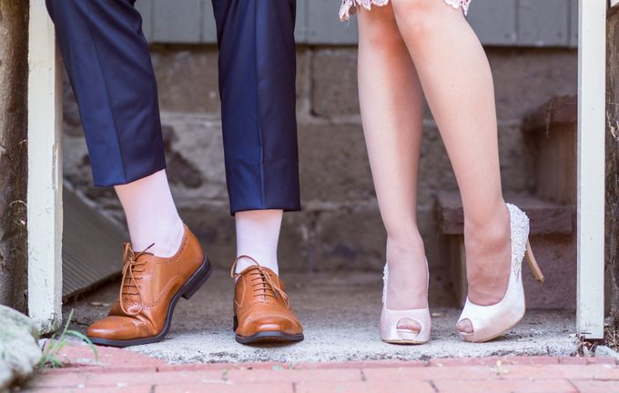 Bridal Shoe Close Ups by Christy Ng Shoes - 034
