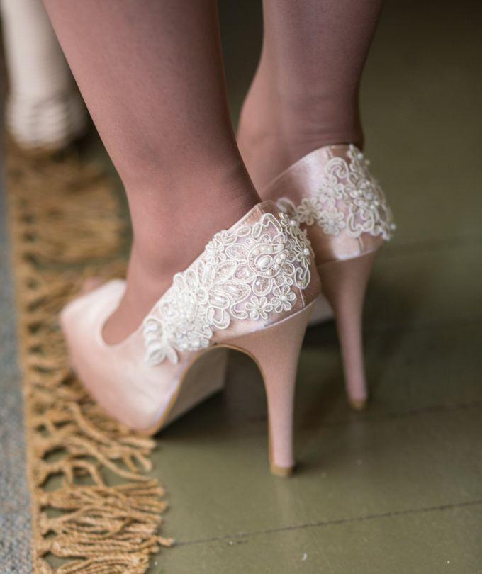 Bridal Shoe Close Ups by Christy Ng Shoes - 036