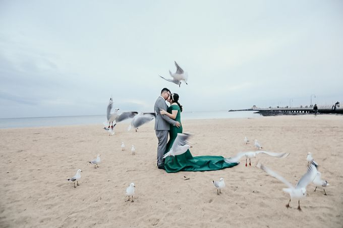 Melbourne | Prewedding Jeffri & Jessica by Monchichi - 023