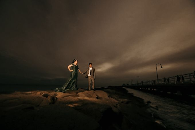 Melbourne | Prewedding Jeffri & Jessica by Monchichi - 034