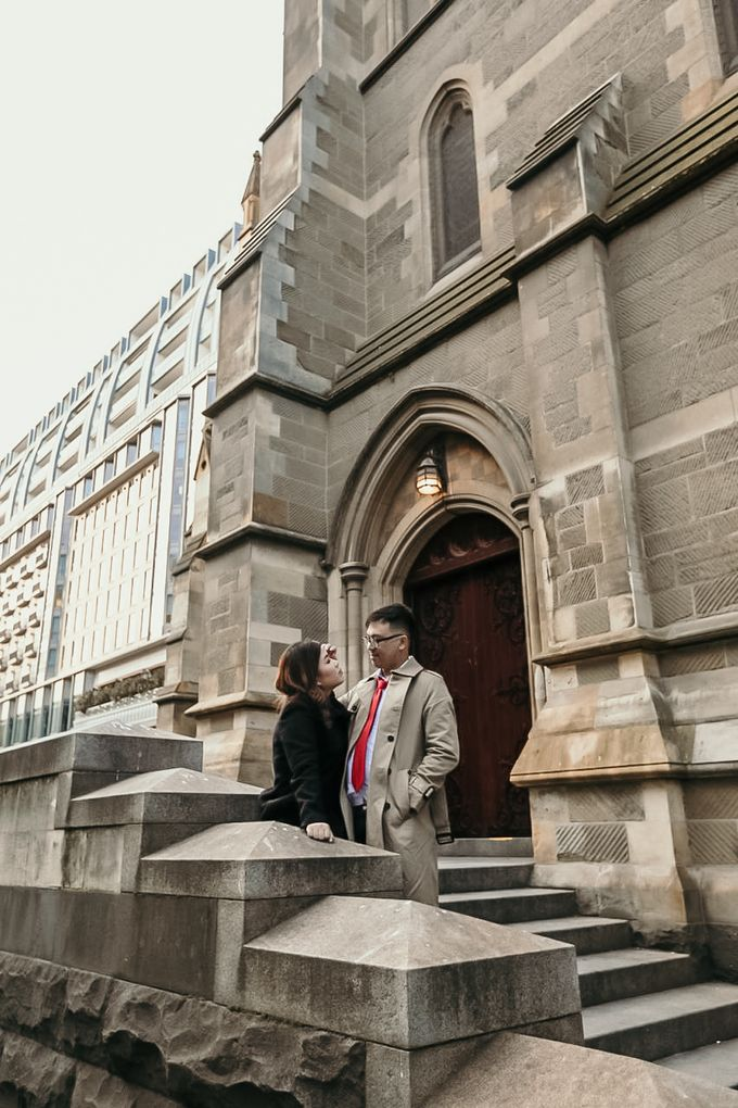 Melbourne | Prewedding Jeffri & Jessica by Monchichi - 043