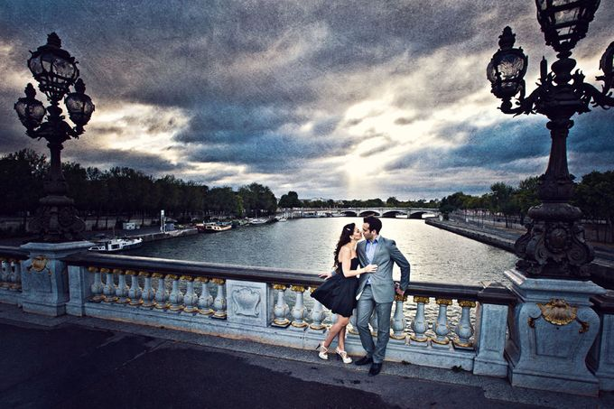 Paris Pre Wedding by Vey Gallery - 006
