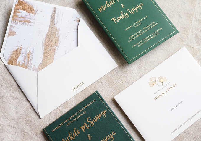 """The Wedding of """"Michelle & Franky"""" by Memoir Paperie - 002"""