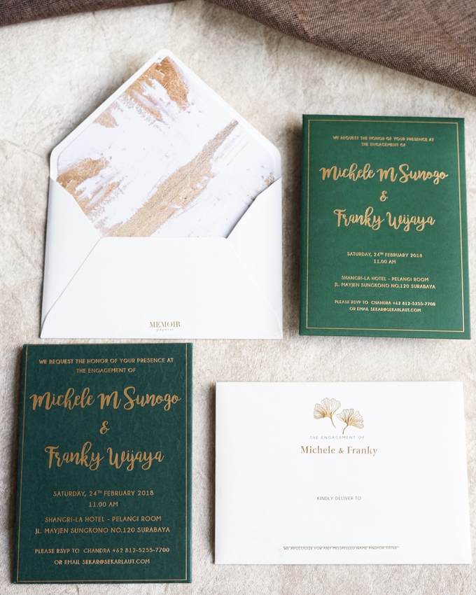 """The Wedding of """"Michelle & Franky"""" by Memoir Paperie - 003"""
