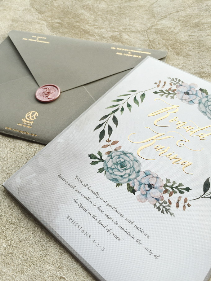 """The Wedding of """"Ronald & Karina"""" by Memoir Paperie - 001"""