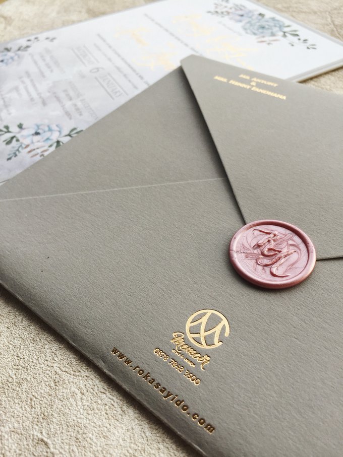 """The Wedding of """"Ronald & Karina"""" by Memoir Paperie - 003"""