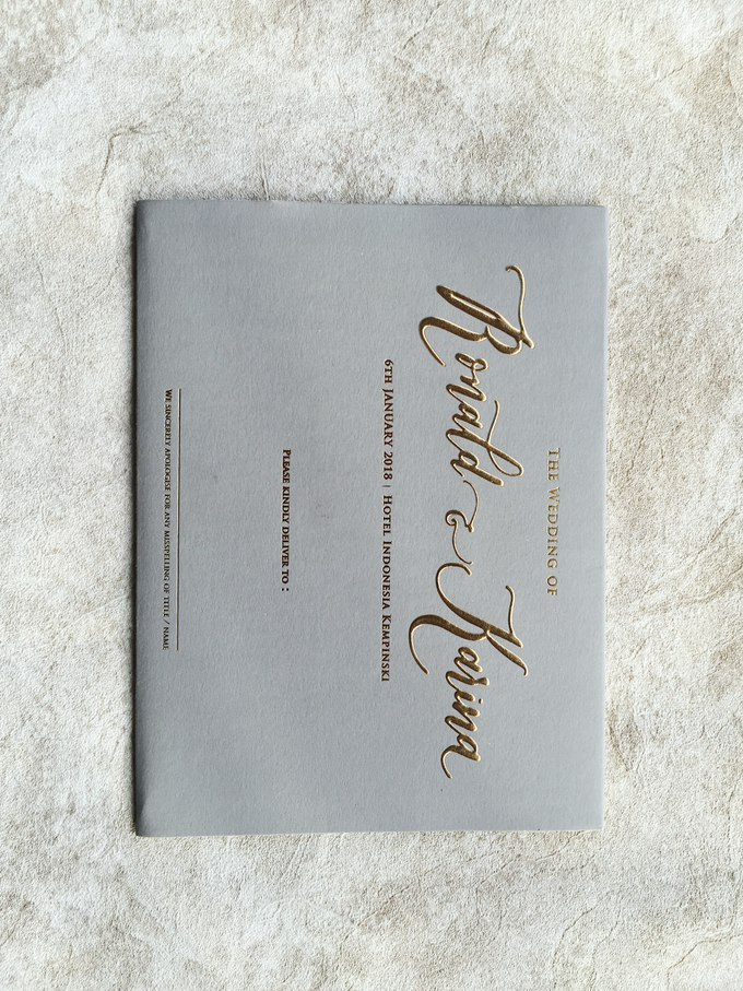 """The Wedding of """"Ronald & Karina"""" by Memoir Paperie - 004"""