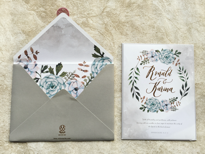 """The Wedding of """"Ronald & Karina"""" by Memoir Paperie - 002"""