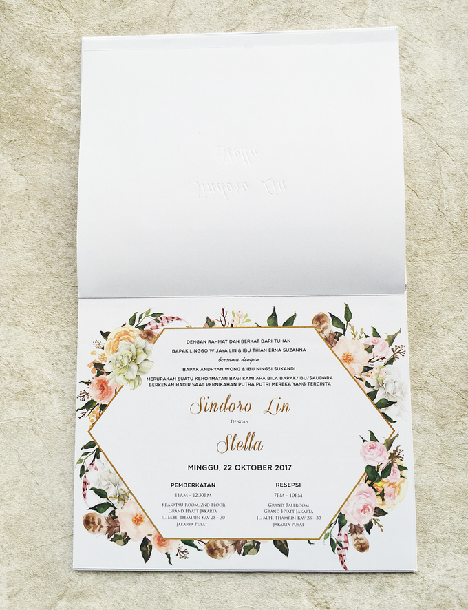 "The Wedding of ""Sindoro & Stella"" by Memoir Paperie - 003"