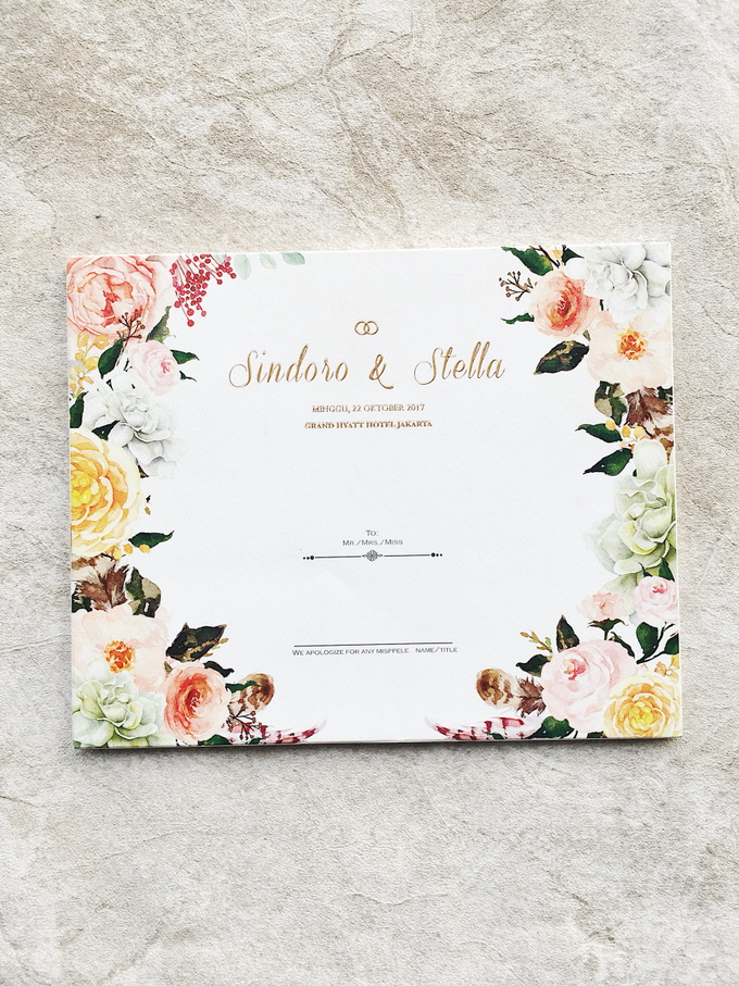 "The Wedding of ""Sindoro & Stella"" by Memoir Paperie - 002"