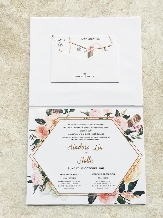 "The Wedding of ""Sindoro & Stella"" by Memoir Paperie - 004"