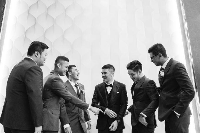 BEAUTIFUL IN BLACK AND WHITE by Skenoo Hall Emporium Pluit by IKK Wedding - 005