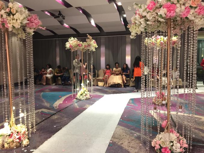 Lobby Area Wedding Erick & Vivi by Mercure Jakarta Sabang - 002
