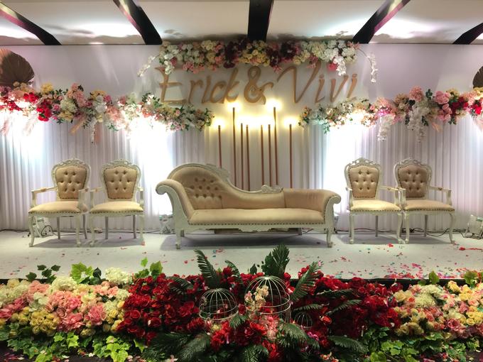 Lobby Area Wedding Erick & Vivi by Mercure Jakarta Sabang - 003