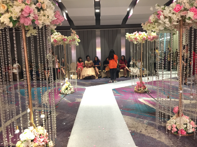 Lobby Area Wedding Erick & Vivi by Mercure Jakarta Sabang - 004