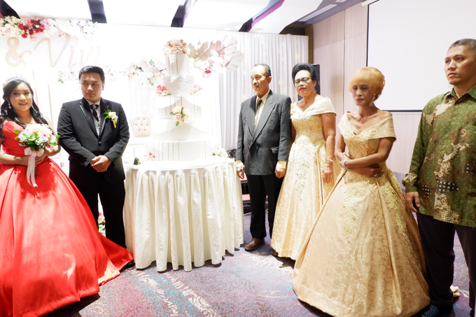 Lobby Area Wedding Erick & Vivi by Mercure Jakarta Sabang - 007