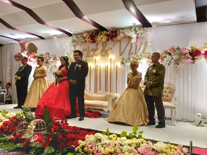 Lobby Area Wedding Erick & Vivi by Mercure Jakarta Sabang - 008