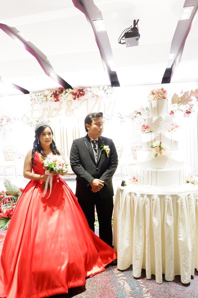 Lobby Area Wedding Erick & Vivi by Mercure Jakarta Sabang - 009