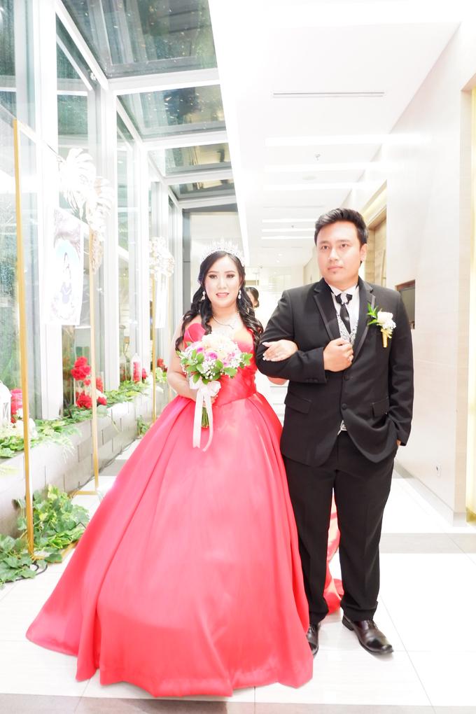 Lobby Area Wedding Erick & Vivi by Mercure Jakarta Sabang - 010