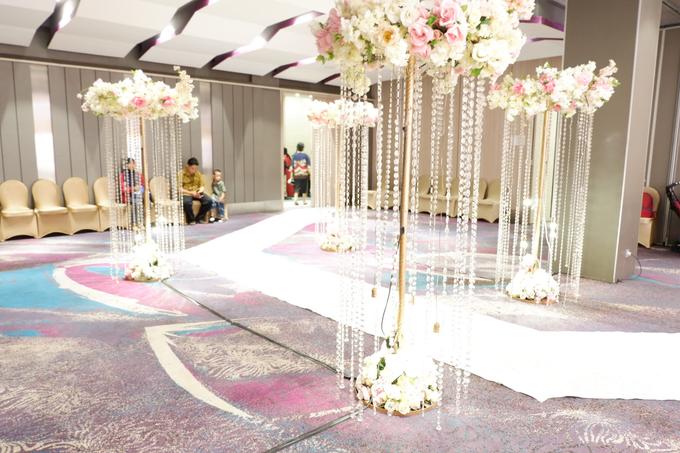 Lobby Area Wedding Erick & Vivi by Mercure Jakarta Sabang - 016