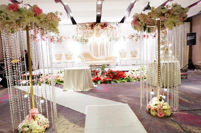 Lobby Area Wedding Erick & Vivi by Mercure Jakarta Sabang - 019