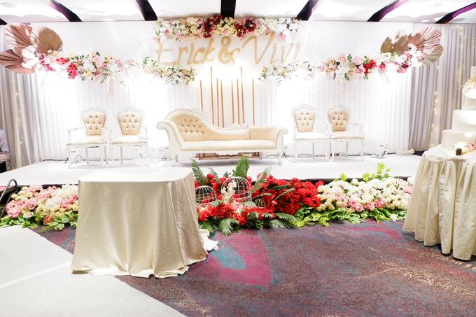 Lobby Area Wedding Erick & Vivi by Mercure Jakarta Sabang - 018