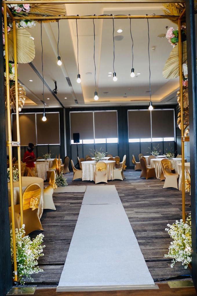 New Normal Wedding Jesi & Ju Patric by Mercure Jakarta Sabang - 006