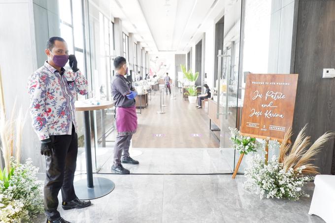 New Normal Wedding Jesi & Ju Patric by Mercure Jakarta Sabang - 016