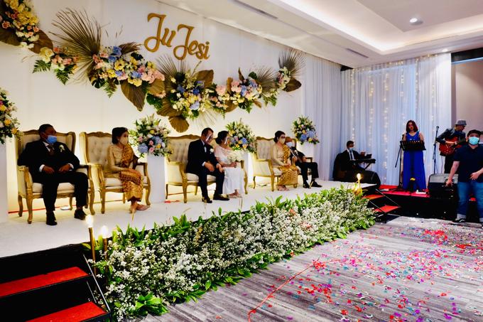 New Normal Wedding Jesi & Ju Patric by Mercure Jakarta Sabang - 020
