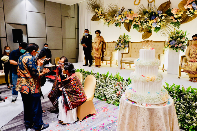 New Normal Wedding Jesi & Ju Patric by Mercure Jakarta Sabang - 023