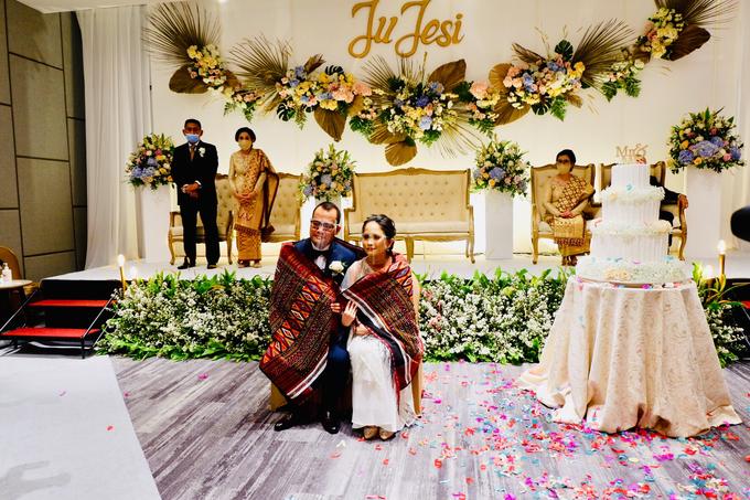 New Normal Wedding Jesi & Ju Patric by Mercure Jakarta Sabang - 024