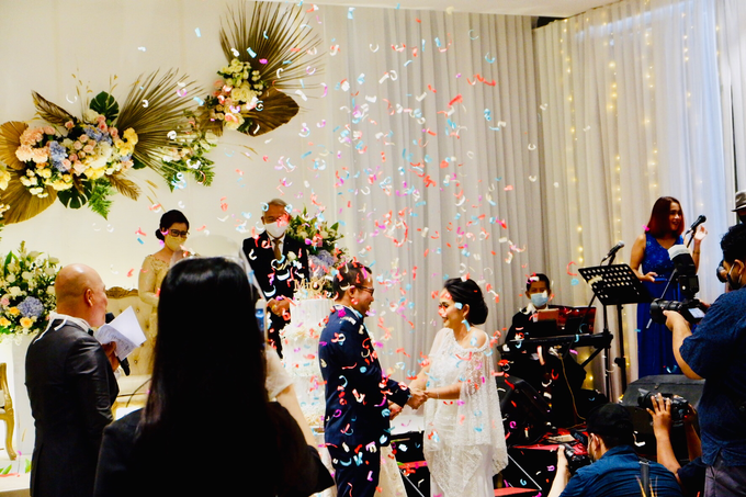 New Normal Wedding Jesi & Ju Patric by Mercure Jakarta Sabang - 026